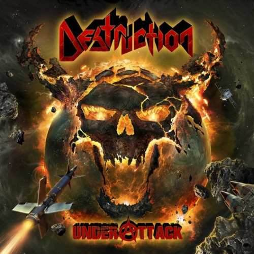 CD Destruction - under Attack Digipack - 2016