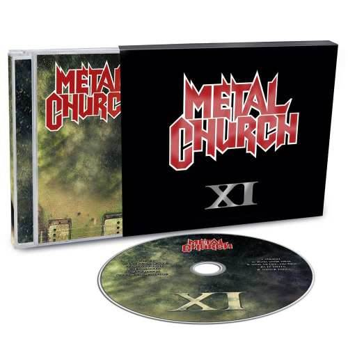 CD Metal Church - xi - 2016