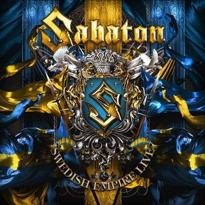 CD Sabaton - Swedish Empire Live Digipack - 2013
