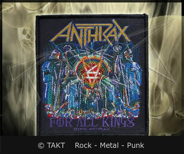 Nášivka Anthrax - for All Kings
