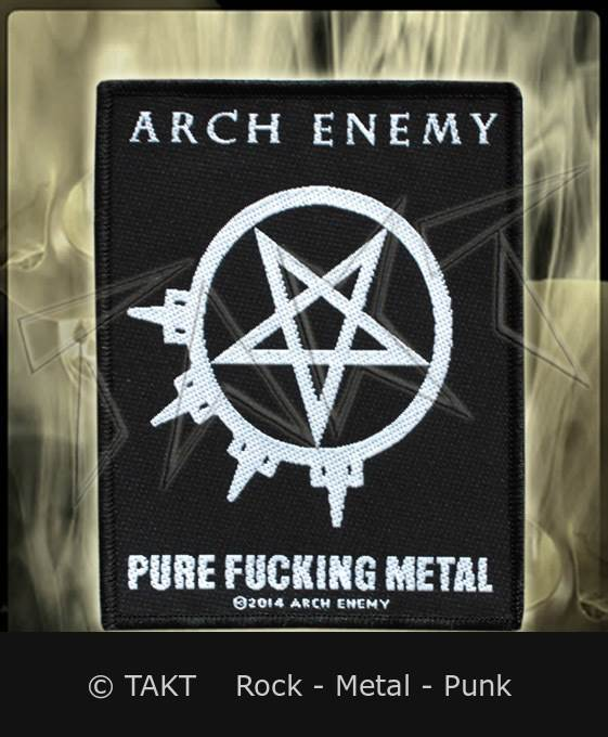 Nášivka Arch Enemy - pure Fucking Metal