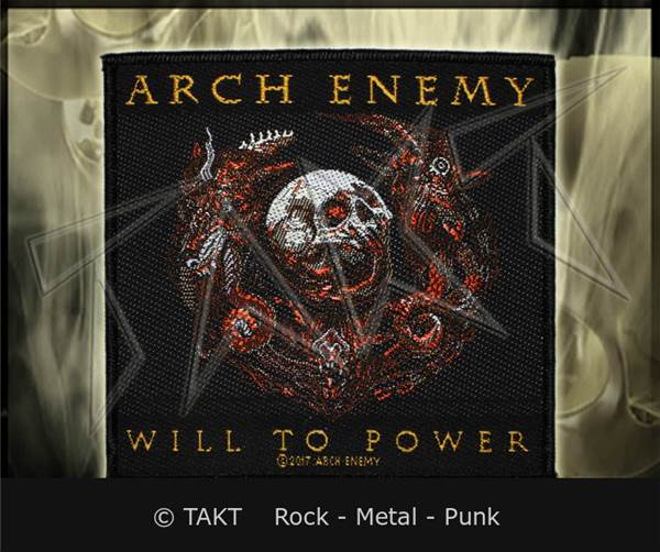 Nášivka Arch Enemy - will To Power