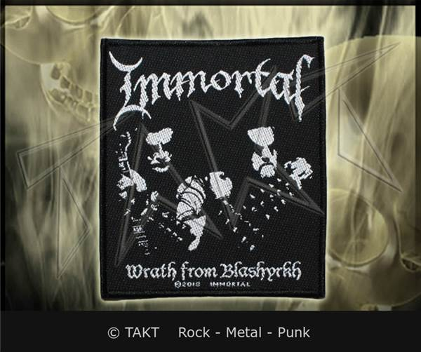 Nášivka Immortal - wrath From Blashyrkh