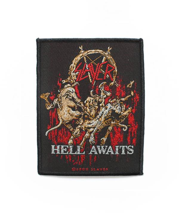 Nášivka Slayer - Hell Awaits (imp.  )