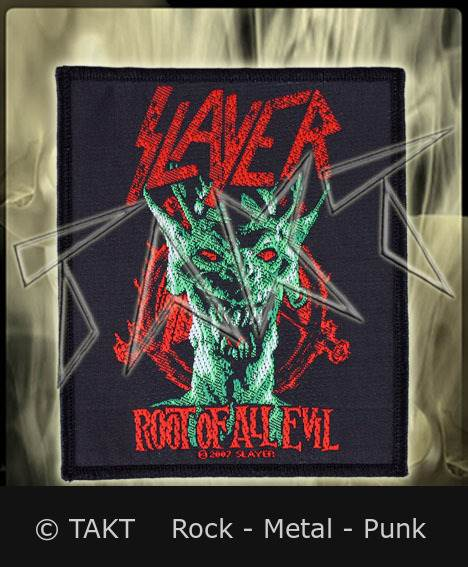 Nášivka Slayer - Root Of All Evil