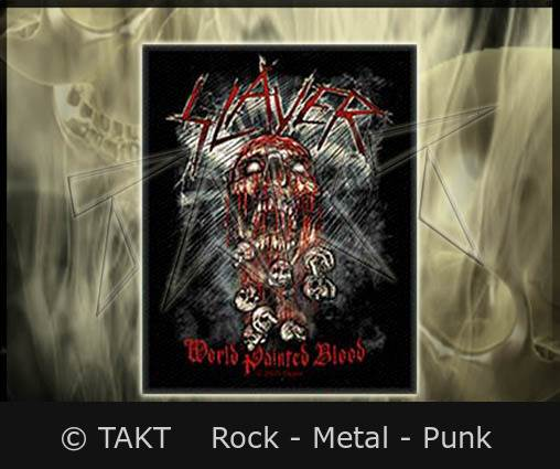 Nášivka Slayer - World Painted Blood