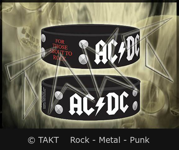 Pásek na ruku AC/ DC - For Those About To Rock