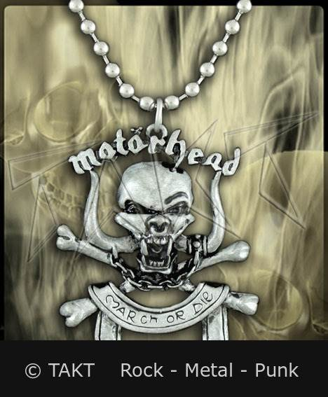 Přívěšek Motorhead - March Or Die