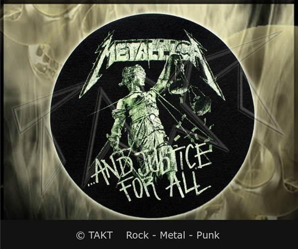 Slipmat Metallica - .  .  .  And Justice For All - dekorace do gramofo...
