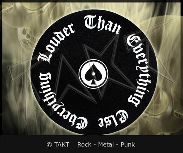 Slipmat Motorhead - everything Louder Than Everything Else - dekorace ...