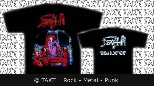 Tičko DEATH - Scream Bloody Core (import) WG