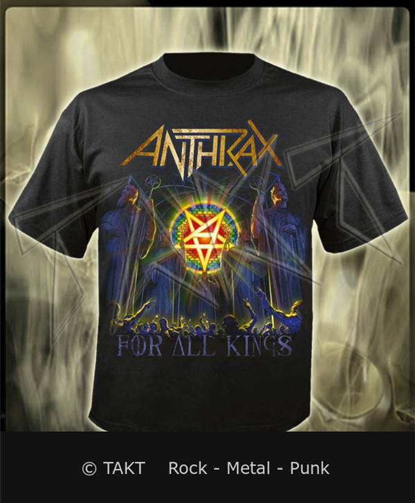 Tričko Anthrax - for All Kings Imp.