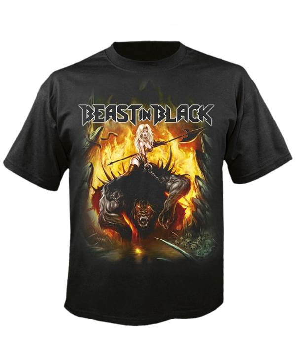 Tričko Beast In Black - from Hell With Love Imp.
