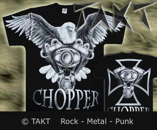 Tričko Chopper - Eagle All Print Nt