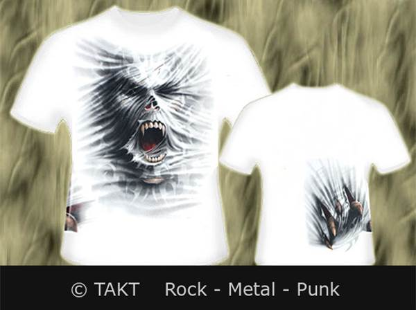 Tričko Darkside Uleashed White T - Shirt Imp.