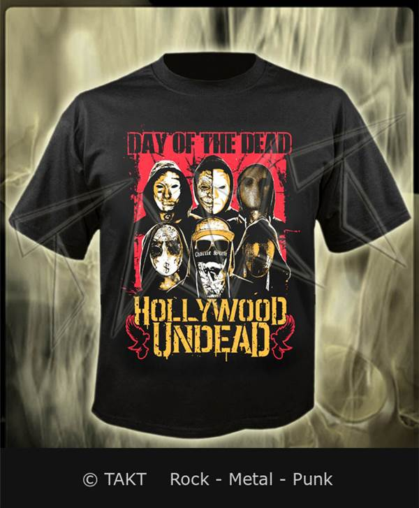 Tričko Hollywood Undead - day Of The Dead Imp.  02