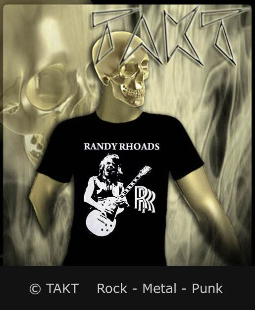 Tričko Randy Rhoads - randy Rhoads Remembered Imp.
