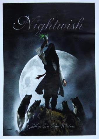 Vlajka Nightwish - Hfl0912